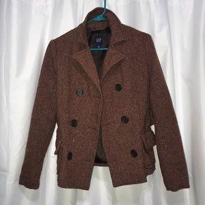 Gap Wool Tweed Blazer